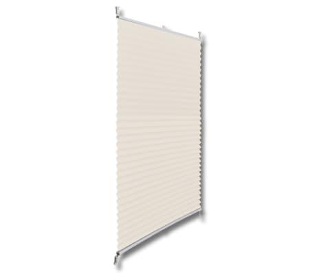 acheter store pliss en cr me 60 x 125cm pas cher. Black Bedroom Furniture Sets. Home Design Ideas