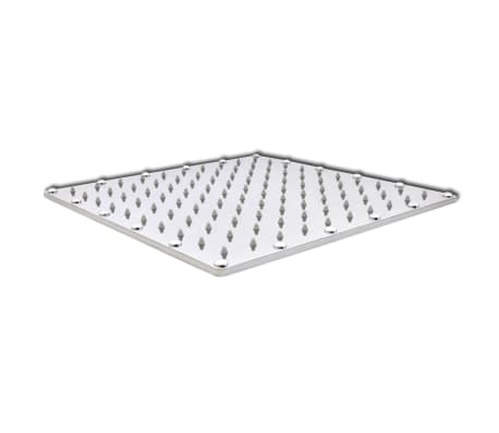 Stainless Steel Rainfall Rain Bathroom Shower Head 30 cm Square[2/7]