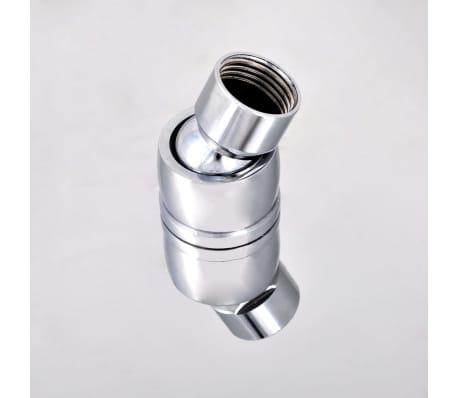 Stainless Steel Rainfall Rain Bathroom Shower Head 30 cm Square[6/7]