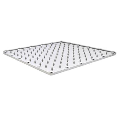Stainless Steel Rainfall Rain Bathroom Shower Head 40 cm Square[2/7]