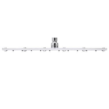 Stainless Steel Rainfall Rain Bathroom Shower Head 40 cm Square[5/7]