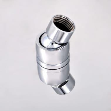 Stainless Steel Rainfall Rain Bathroom Shower Head 40 cm Square[6/7]