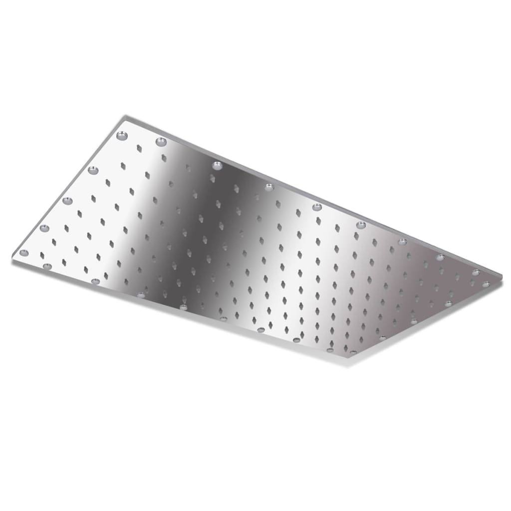 Cap de duş din oţel inoxidabil 50 x 30 cm vidaxl.ro