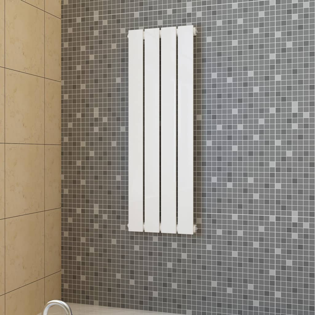 Lamelový radiátor bílý 311 mm x 900 mm