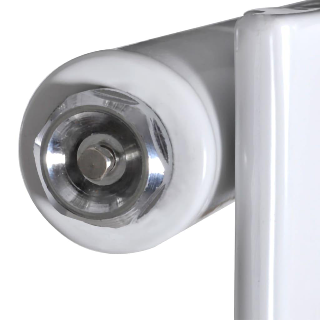 vidaXL Radiateur Panneau Blanc Chauffage Convecteur Électrique Multi-taille 9
