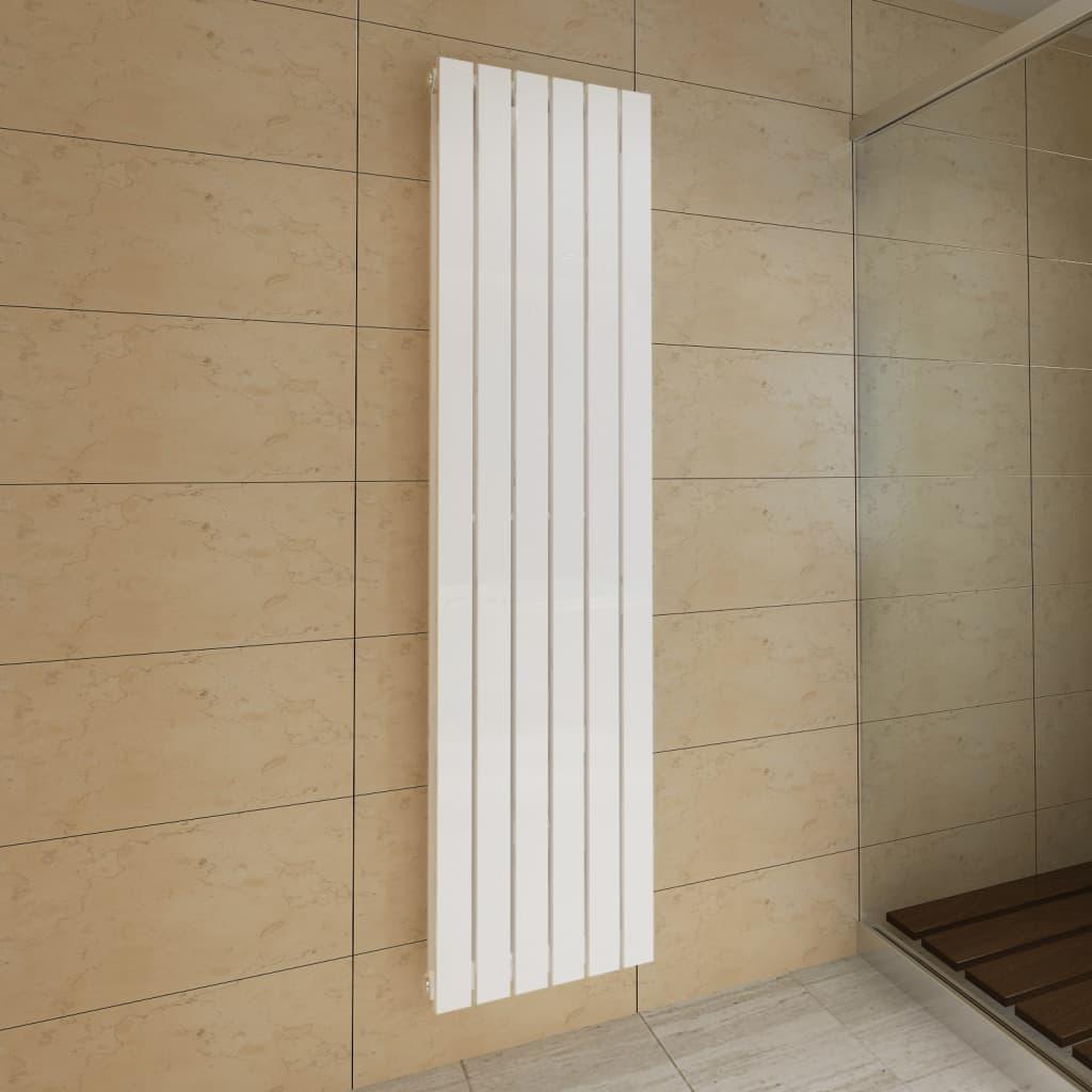 Lamelový radiátor bílý 465 mm x 1800 mm dvojitý