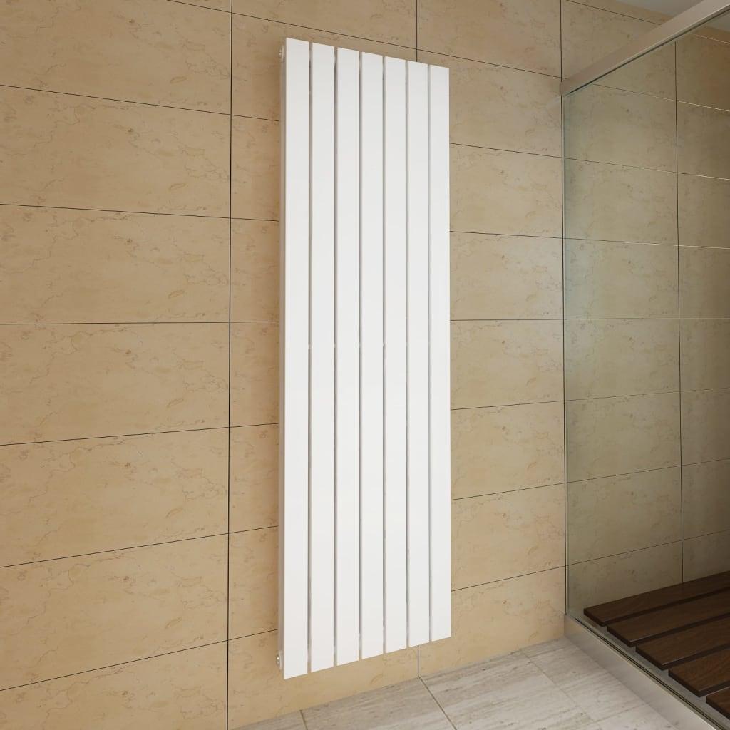 Lamelový radiátor bílý 542 mm x 1800 mm dvojitý