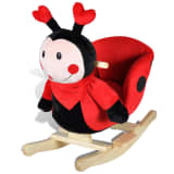 vidaXL Rocking Animal Ladybug