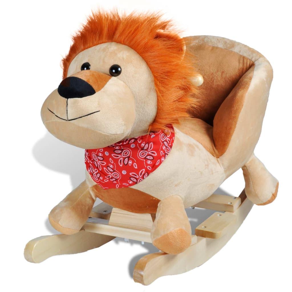 vidaXL Houpací hračka lev