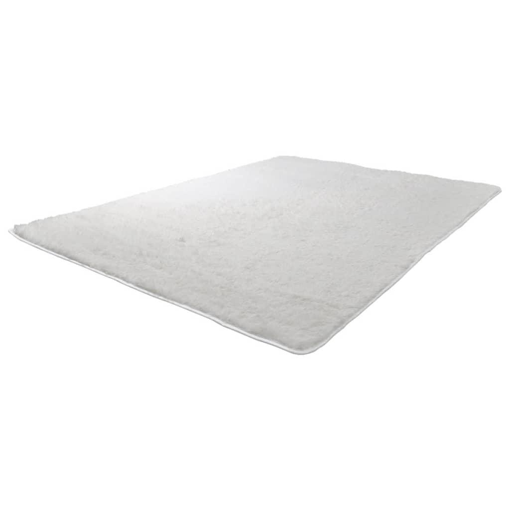 Afbeelding van vidaXL Crème hoogpolig tapijt 80 x 150 cm gewicht 2600g/m2