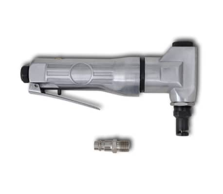 vidaXL Compressed Air Pneumatic Nibbler Aluminum Sheet Metal Cutting