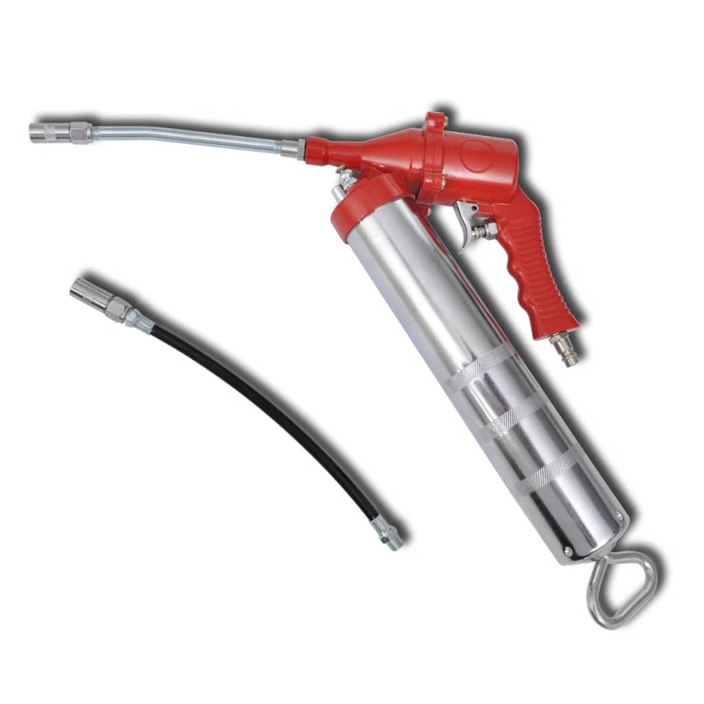 vidaXL Compressed Air Pneumatic Grease Gun