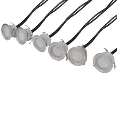 LED markspotlights för inom- och utomhusbruk 6-pack[4/8]