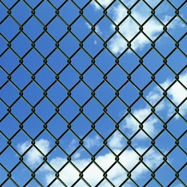 Chain-Link Fence Set with Posts Spike Anchors & Other Fitting 1.25x25m[3/13]
