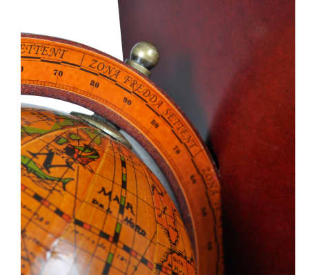 Bookstand World Map Globe Bookend Classic A Pair[5/5]