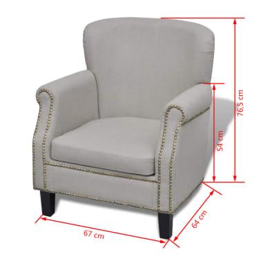 Modern Armchair 67 x 64 x 76,5 cm[5/5]