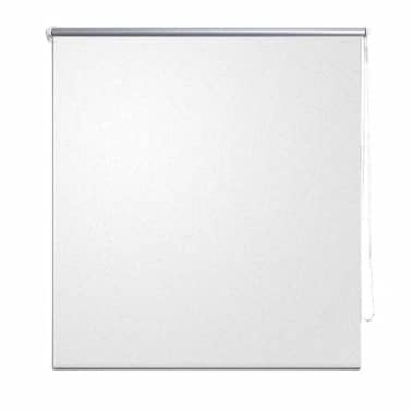 vidaXL Roller Blind Blackout 40 x 100 cm White[2/4]