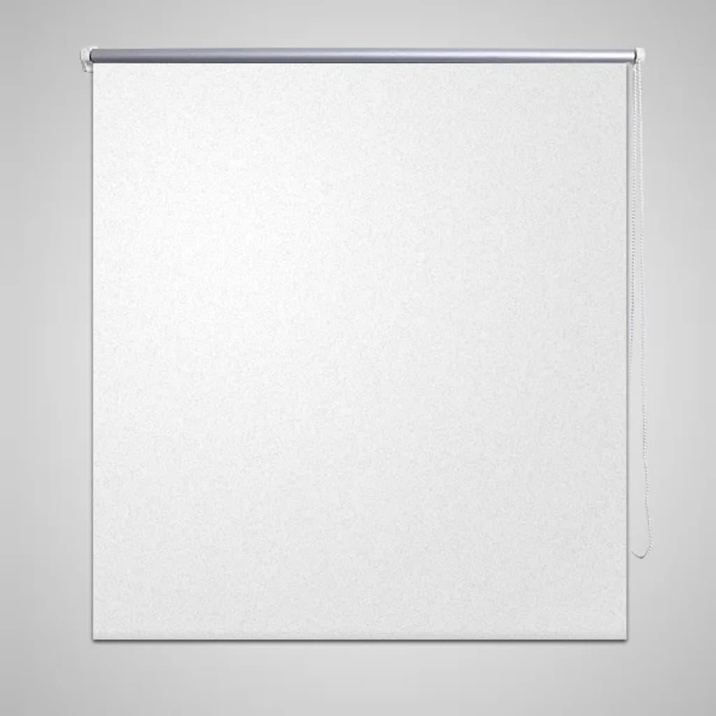vidaXL Mørkeleggingsrullegardin 40 x 100 cm Hvit