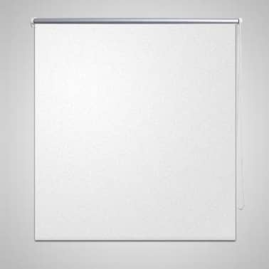 vidaXL Roller Blind Blackout 40 x 100 cm White[1/4]