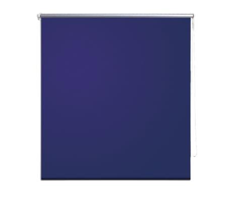 Rolgordijn verduisterend 40 x 100 cm marine / blauw