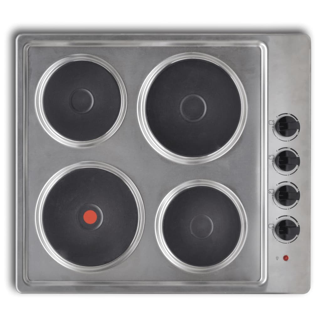 Plită electrică cu 4 arzătoare imagine vidaxl.ro