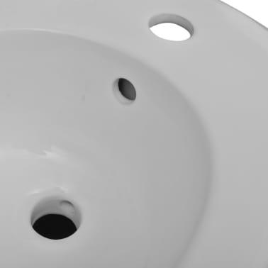 Bidé vit keramik, vägghängd[5/6]