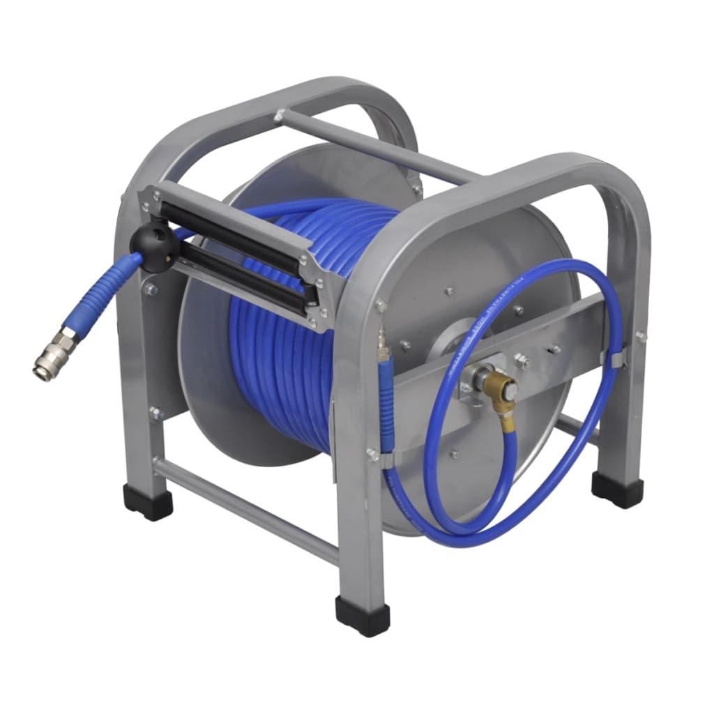 vidaXL Automatic Air Hose Reel Retractable 30m