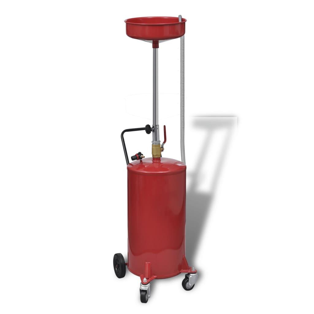 Rezervor hidraulic pentru drenat uleiul de motor Capacitate 75,70 L vidaxl.ro