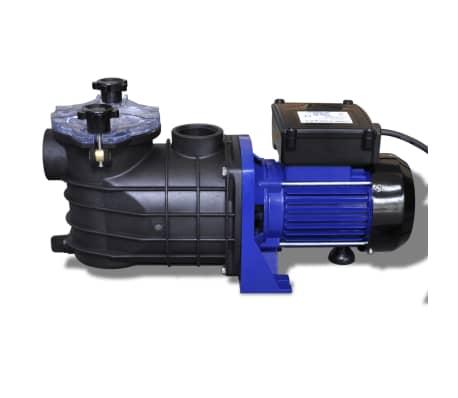 vidaXL Bomba de piscina eléctrica 500 W azul[2/4]