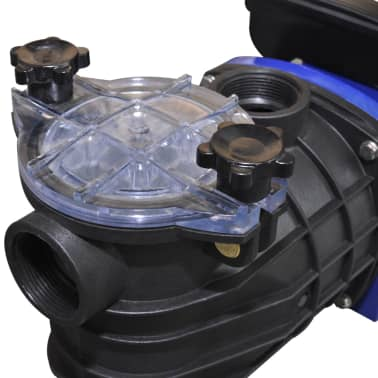 vidaXL Bomba de piscina eléctrica 500 W azul[3/4]
