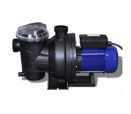 vidaXL Bomba de piscina eléctrica 800 W azul[3/5]