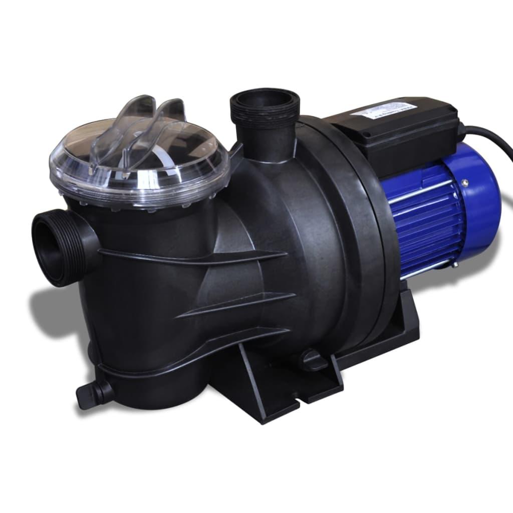 Pompă electrică pentru piscină 1200 W, Albastră poza vidaxl.ro