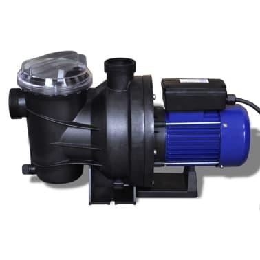 vidaXL Bomba de piscina eléctrica 1200 W azul[4/5]
