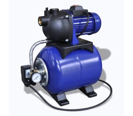 Bomba de jard n el ctrica 1200w azul for Bomba para riego de jardin