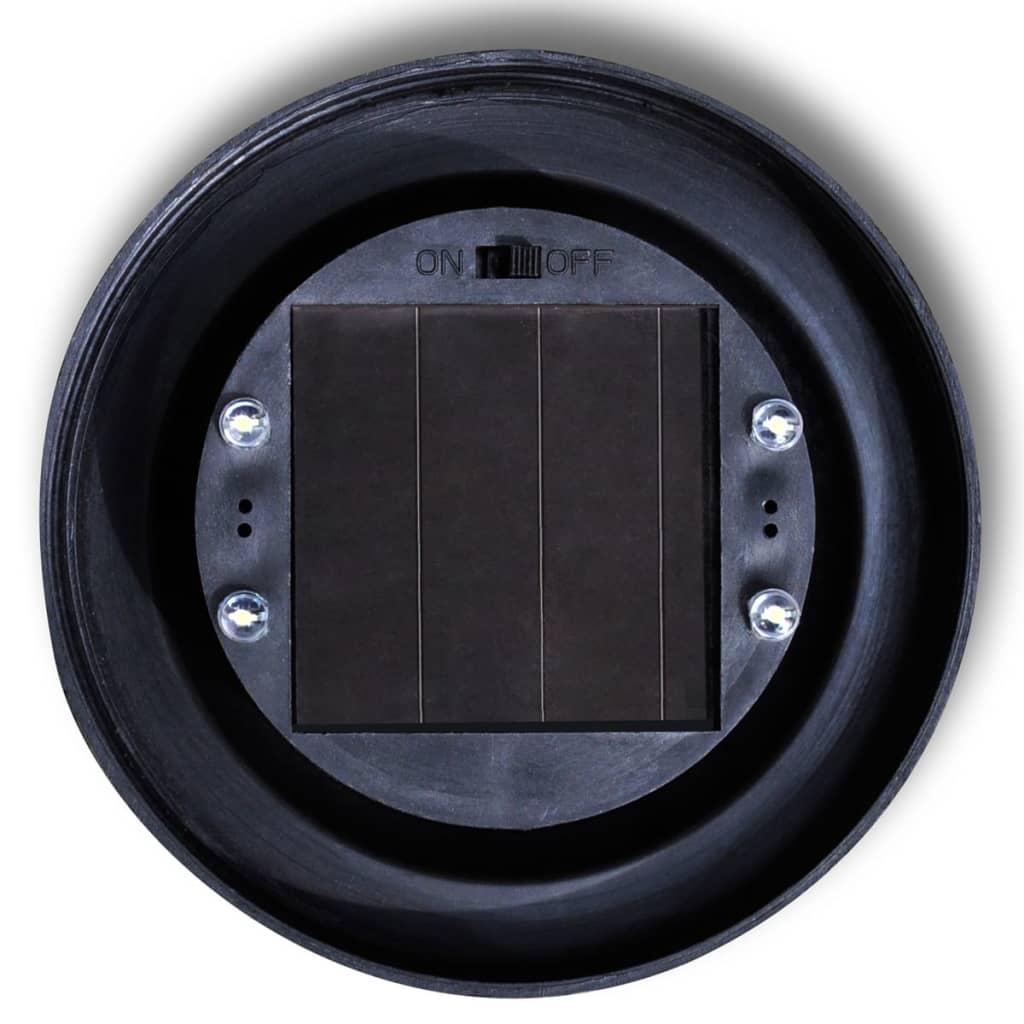 Zahradní svítidlo solární LED kulaté 20 cm 3 ks zapichovací