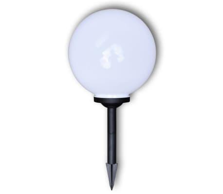 Utelampa LED solpanel 30 cm 2 st med markspikar[4/6]