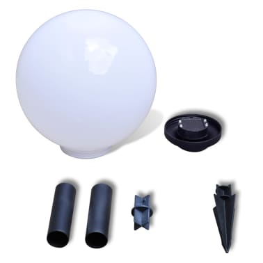Zewnętrzne lampy solarne LED w kształcie kuli, 30 cm, 2 szt.[5/6]