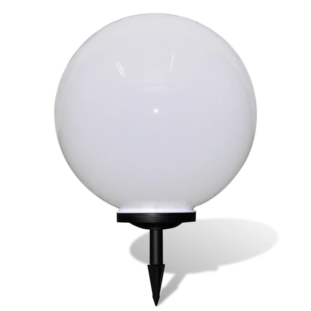 vidaXL Ηλιακό Φωτιστικό Κήπου LED Μπάλα 50cm με Σφήνα 1τμχ