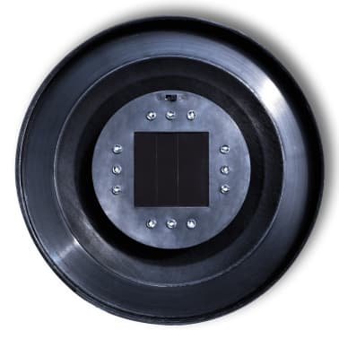 Градинска соларна LED лампа с клин за забиване, сфера, 50 см, 1 бр.[5/5]