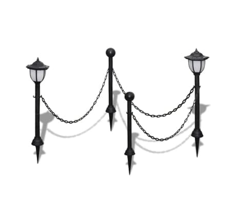 Details Zu Vidaxl 2x Led Solarleuchte Mit Kette Außenlampe Leuchte Lampe Gartenleuchte