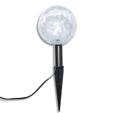 Tuinlampen op zonne-energie LED 3 stuks met grondpinnen en zonnepaneel[5/7]