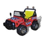 Otroški avto električna motorna igrača za dva otroka rdeča