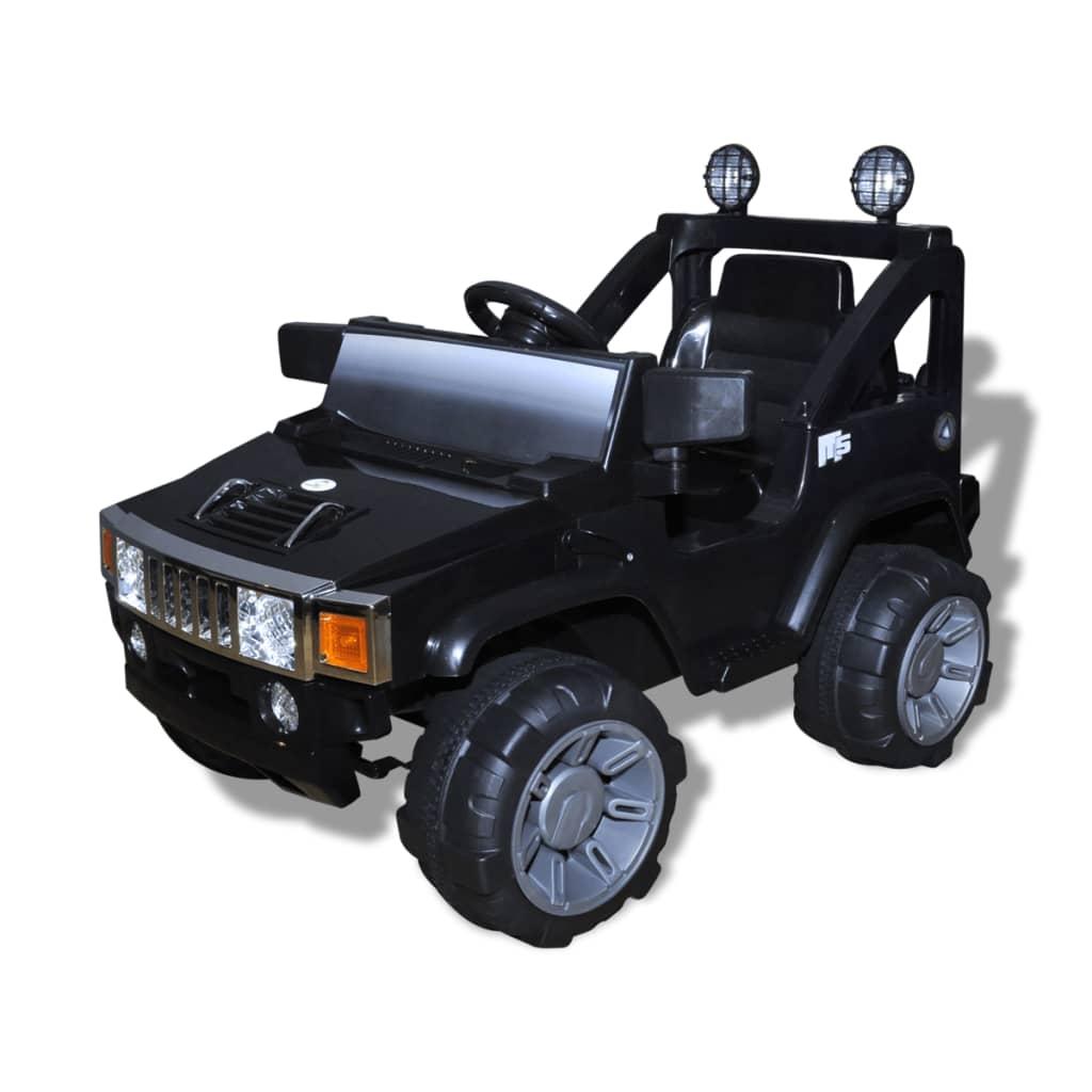 Mașină de jucărie electrică pentru copii, Negru poza 2021 vidaXL
