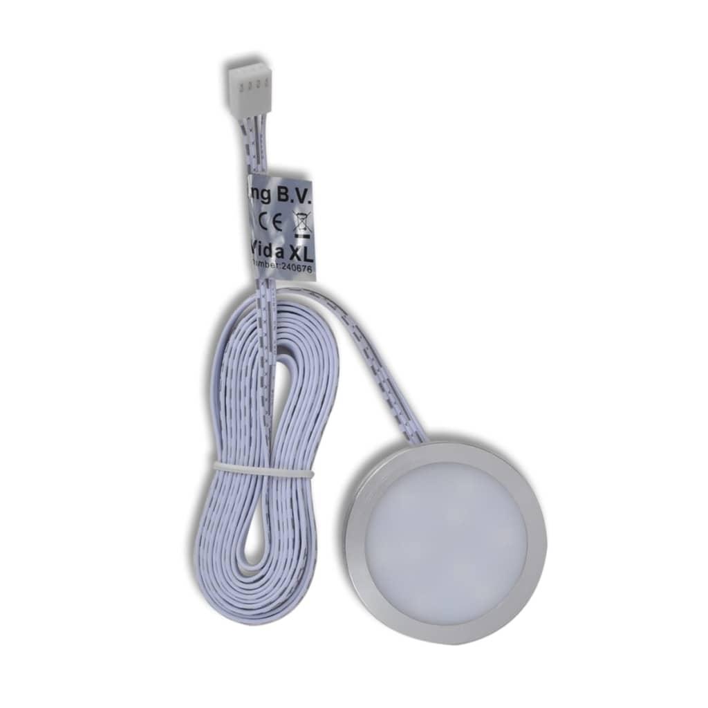 vidaXL RGB LED keuken verlichting kit: 4 stuks + afstandsbediening