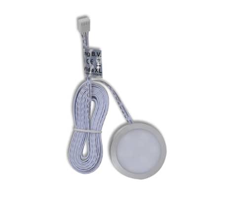LED belysning, rund till köksskåp 4-pack[2/11]