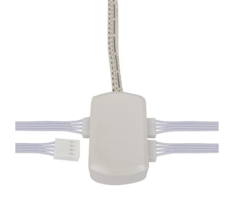 RGB LED keuken verlichting kit: 4 stuks + afstandsbediening online ...