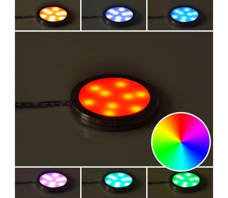 LED belysning, rund till köksskåp 4-pack[9/11]