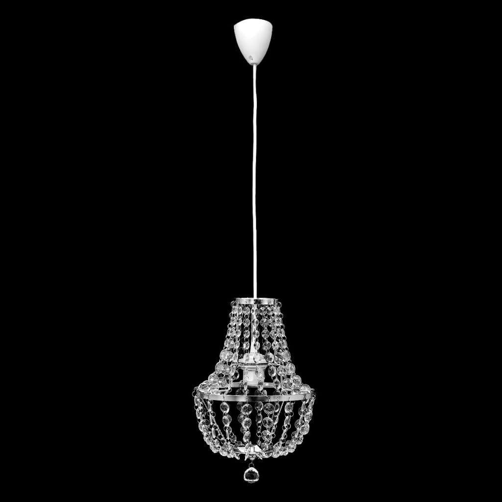 Závěsné stropní svítidlo lustr křišťál chrom
