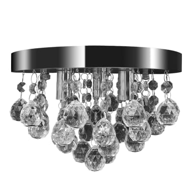Pendant Ceiling Lamp Crystal Design Chandelier Chrome[2/7]
