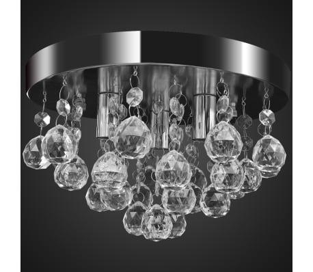 Pendant Ceiling Lamp Crystal Design Chandelier Chrome[3/7]